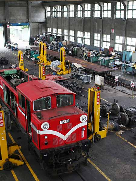 【Alishan Forest Railway Cultural Journey 】Train Maintenance, Preservation, and Exhibition